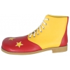 Shoe Clown Star Red And Yellow Large
